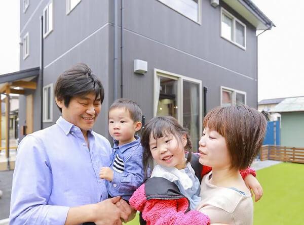 サイエンスホーム八戸|家づくりの流れ:完成・入居