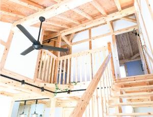 サイエンスホーム八戸の3つの人気のヒミツ|01:住んでいる人と共に呼吸する日本の風土にあう木の家