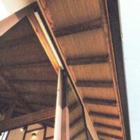 サイエンスホーム八戸|ひのきづくし10のお品書き「軒先化粧垂木」