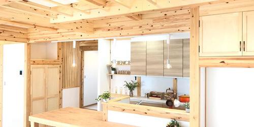 サイエンスホーム八戸|選べる木の色:植物油を主体とした天然系塗料の中から、お好みの色を用いて住空間を作り出せます。