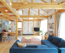 サイエンスホーム八戸|選べる木の色:ナチュラル(イメージ画像)