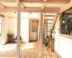 サイエンスホーム八戸|選べる木の色:ホワイトナチュラル(イメージ画像)