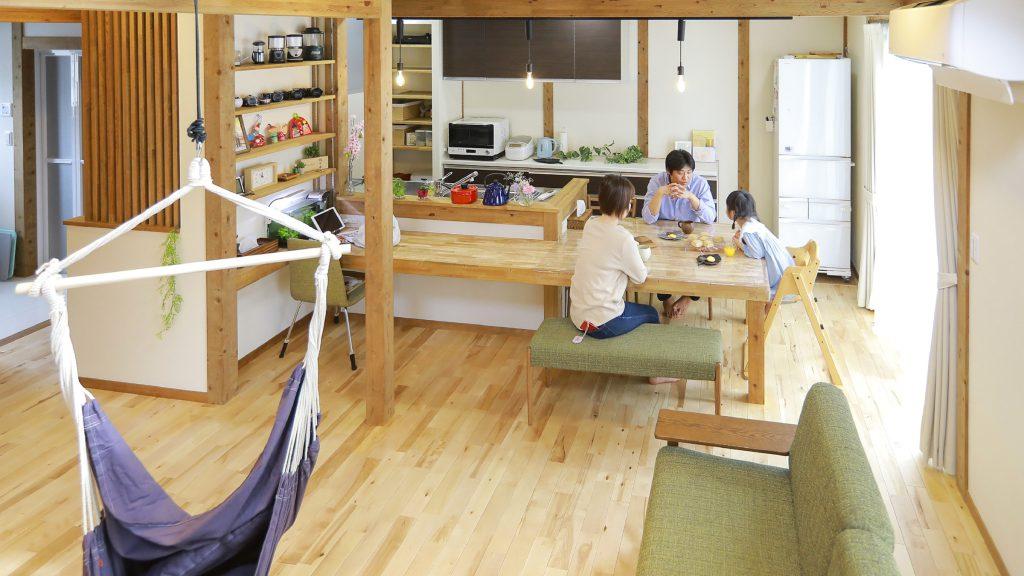 サイエンスホームの施工事例|収納上手な家族が快適に暮らす家