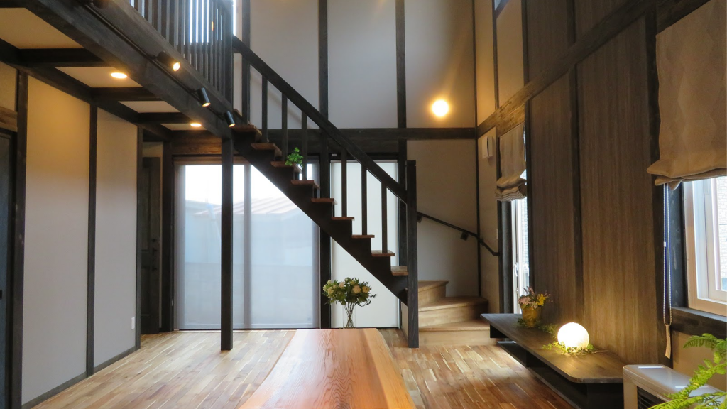 サイエンスホームの施工事例|漆黒で統一されたシックな和テイストの家