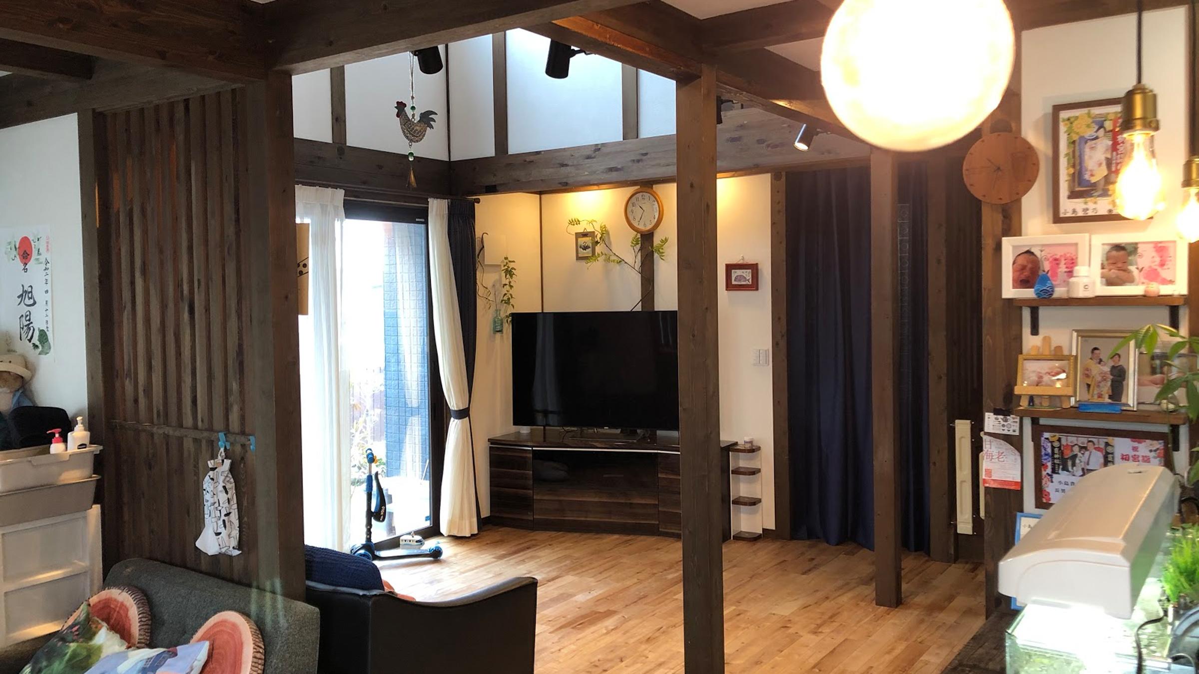 サイエンスホームの施工事例|レトロな雰囲気と丁寧な暮らしを大切にしている家